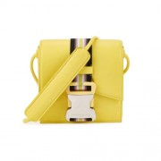 Christopher-Kane-Safety-Buckle-Mini-Bright-Yellow-Cross-Body-Bag-Front