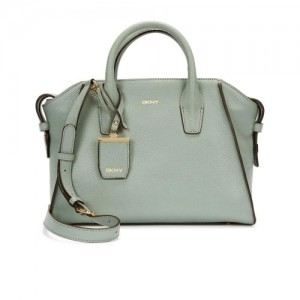 DKNY-Chelsea-Powder-Blue-Leather-Tote