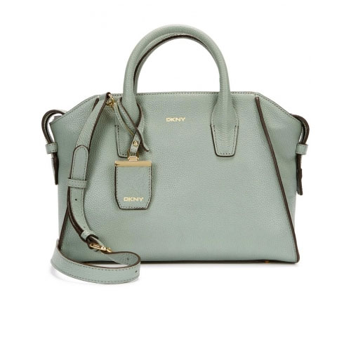 DKNY Chelsea Powder Blue Leather Tote