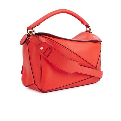 Loewe Puzzle Red Tote Bag