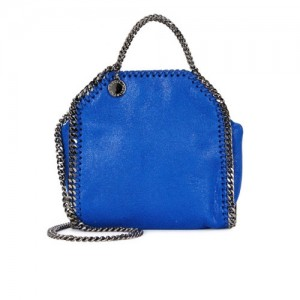 Stella-McCartney-Falabella-Tiny-Bright-Blue-Shoulder-Bag-Front
