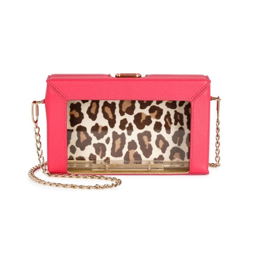 Charlotte Olympia Astaire Perspex Box Clutch
