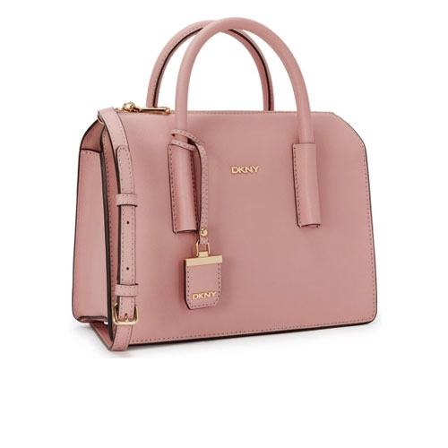 DKNY Bryant Park Rose Saffiano Tote Bag