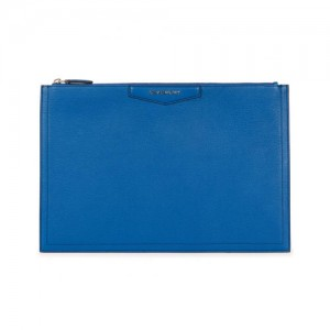 Givenchy-Antigona-large-blue-leather-pouch-front