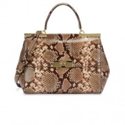 Michael-Kors-Marlow-Python-Effect-Leather-Shoulder-Bag