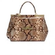 Michael-Kors-Marlow-Python-Effect-Leather-Shoulder-Bag